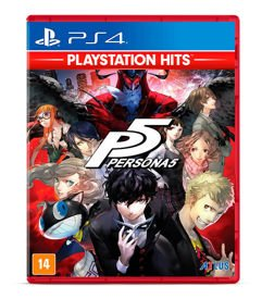 Game Persona 5 Hits - PS4