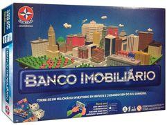 Jogo Banco Imobiliário Tabuleiro - Estrela