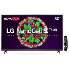 "Smart TV LED 50"" Ultra HD 4K LG NanoCell"