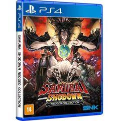 Game Samurai Shodown Neogeo Collection - PS4
