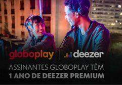 Deezer Premium: 1 ano para assinantes da Globoplay