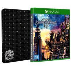 Jogo Kingdom Hearts lll + Brinde Steelbook - Xbox One