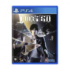 Jogo Judgment - PS4
