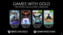 Conheça os Games with Gold de Maio