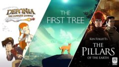 Grátis na Epic Games Deponia The Complete Journey, Ken Follett's The Pillars of the Earth e The First Tree