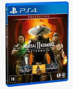 Game Mortal Kombat 11: Aftermath - PS4