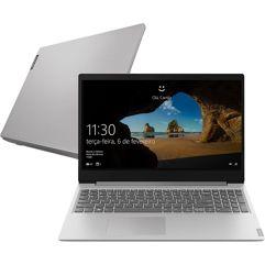 "Notebook Lenovo Ideapad S145 R5 12GB 1TB W10 15.6"" - Prata"