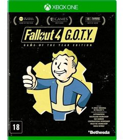 Fallout 4 Edição Game Of The Year - Xbox One
