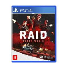 Game - Raid World War 2 - PS4