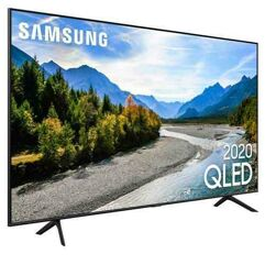 Smart TV 50 Samsung QLED 4K Pontos Quânticos, Borda Infinita, Alexa