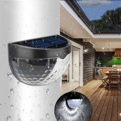Luminária de Parede de Luz Solar à Prova Dágua