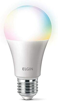 Smart Lâmpada Led Colors - Elgin - compatível com Alexa