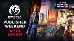 Promoção Paradox Interactive na Steam