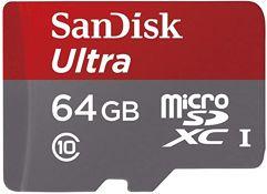 Cartão Micro SD Sandisk Ultra