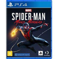 Jogo Marvels SpiderMan Miles Morales - PS4