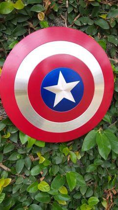 Escudo do Capitão América 30cm - Zero Geek
