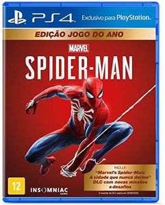 Jogo Marvels Spider-Man Edição Jogo do Ano para PS4