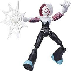 Boneco Homem-Aranha Fantasma Bend And Flex Hasbro - 15 cm