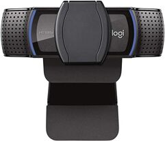 Webcam Full HD Logitech C920s com Microfone 1080p Widescreen