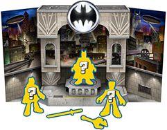 Conjunto Pop Up Figuras Surpresas Fisher-Price DC Batman Gotham City