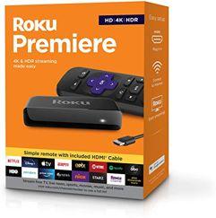 Roku Premiere 4K & HDR Streaming