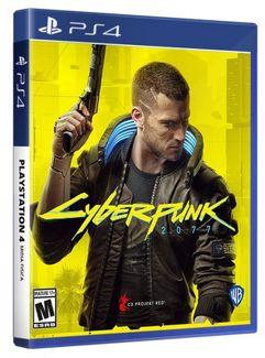 Jogo Cyberpunk 2077 para PS4