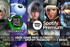 4 Meses de Spotify Premium para assinantes Xbox Game Pass