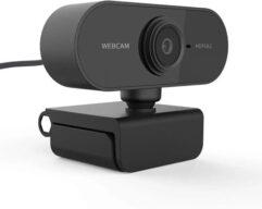 Webcam FullHD 1080P - Com Microfone e Redução de Ruído