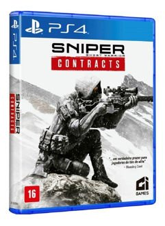 Game Sniper Ghost Warrior Contracts - PS4