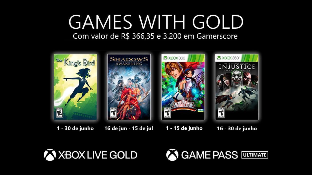 Games with Gold de Junho de 2021: conheça os jogos