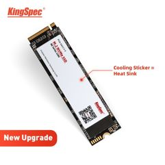 SSD Kingspec M2 Nvme - 128GB 256GB 512GB 1TB