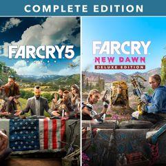 Combo Far Cry 5 + Far Cry New Dawn - PS4