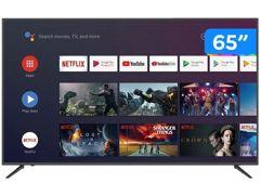 "Smart TV 4K HQLED 65"" JVC Android HDR 4"