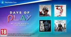 Ofertas de jogos Days of Play 2021 para PS4 e PS5