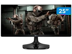 "Monitor Gamer LG 25"" LED IPS - Full HD 75Hz 1ms"