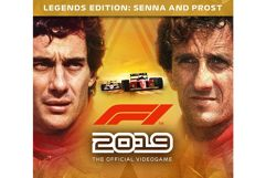 Jogo F1 2019 Legends Edition Senna e Prost para PC