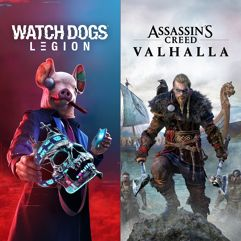 Pacote Assassin's Creed Valhalla + Watch Dogs: Legion - Xbox One