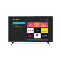 """Smart TV LED 43"""" Full HD AOC Roku 60Hz"""