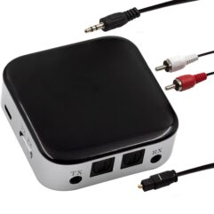 Transmissor Receptor De Audio Bluetooth 5.0 Aux Spdif Rca - Haiz Shop
