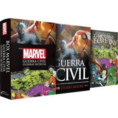 Livro - Box Marvel Guerra Civil: Guerras secretas