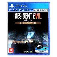 Jogo Resident Evil 7 Edição Gold - PS4