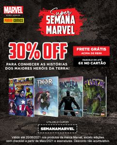 Super Semana Marvel na Panini