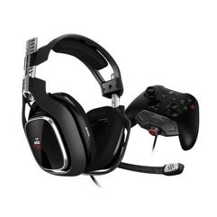 Headset ASTRO Gaming A40 TR + MixAmp M80 Gen 4 para Xbox One - Logitech