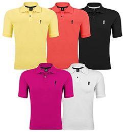 Kit 05 Camisetas Gola Polo - Polo Marine