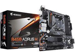 Placa Mãe Gigabyte B450 Aorus M AMD AM4 - DDR4 Micro ATX