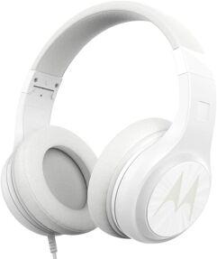 Headphone Motorola Pulse 120 com Microfone - Branco