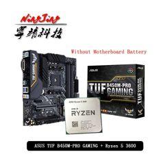 Combo Processador AMD Ryzen 5 3600 + Placa Mãe Asus TUF B450M-Pro Gaming