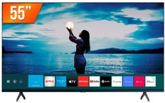 """Smart TV Samsung LED 55"""" 4K Ultra HD HDR10 Crystal"""