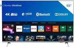 "Smart TV 55"" 4K Philips Ultra HD HDR10+"