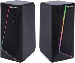 Caixa de Som Gamer 2.0 BLAST RGB LED 10W – Vinik